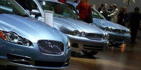 Jaguar stand 2008 London Motorshow