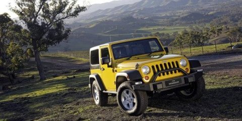 Jeep Wrangler Mopar Adventure Pack