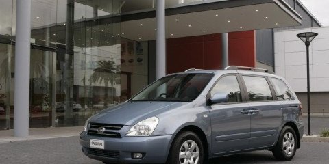 Kia Carnival most affordable people-mover