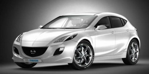 2009 Mazda3 rendered speculation