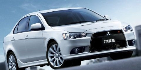 Mitsubishi Lancer Ralliart first details