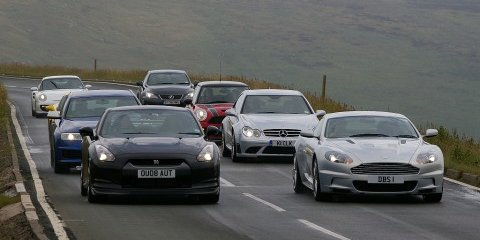 Top Gear shows off at the Isle of Man