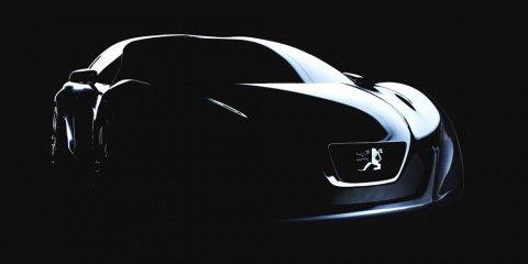 Peugeot 'RC...' hybrid concept teaser