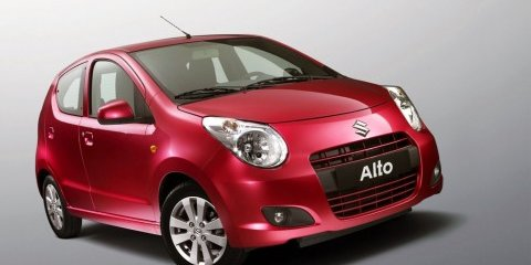 Suzuki Alto Paris Motor Show debut