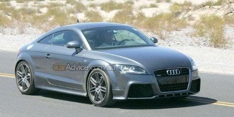 Spied: 2009 Audi TT RS