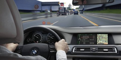 BMW Speed Limit Display a car that can read speed signs