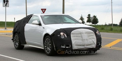 Spied: Cadillac CTS Coupe interior