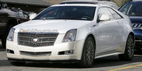 Spied: 2009 Cadillac CTS Coupe