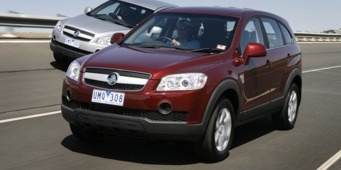 2008 Holden Captiva 2WD diesel