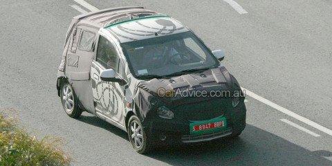 Spied: New 'Daewoo' Matiz
