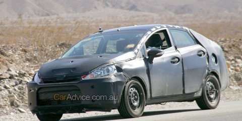 Spied: Ford Fiesta sedan