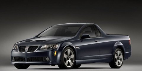 Commodore Ute to be called Pontiac G8 ST