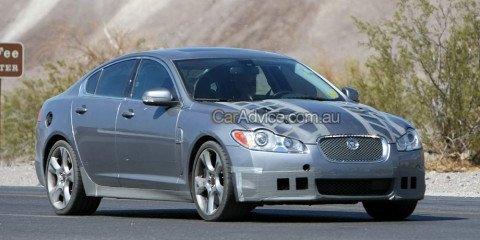 2009 Jaguar XF-R spy photos