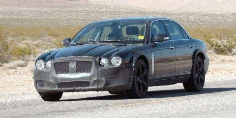 Spied: 2011 Jaguar XJ mule