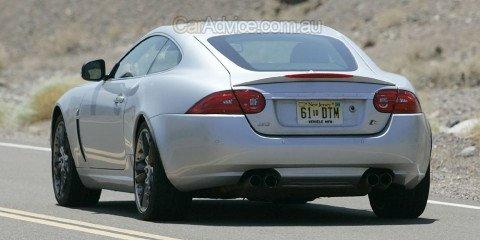 2009 Jaguar XK spied