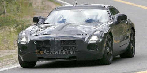 Spied: Mercedes-Benz SLC Gullwing