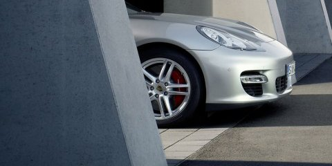 Porsche Panamera first official glimpse