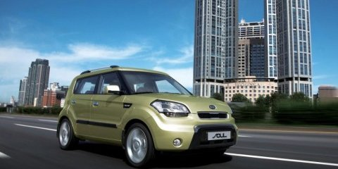 2009 Kia Soul engines