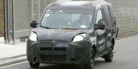 2010 Fiat Doblo spied