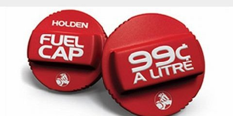 Holden offers fuel at 99 cents per litre