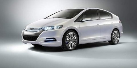 Honda Insight hybrid car