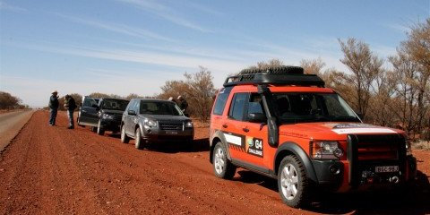 Land Rover's 60th Anniversary Cross Australia – Second Leg