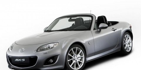 2009 Mazda MX-5 first official image