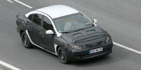 2009 Renault Megane sedan spied