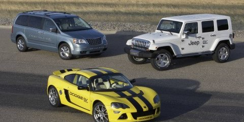 Dodge, Jeep and Chrysler cars electrifying