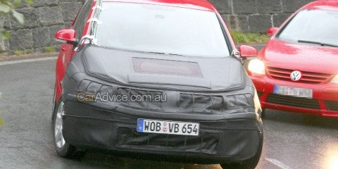 Spied: 2009 Volkswagen Golf Plus