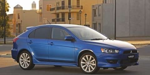 2009 Mitsubishi Lancer Sportback First Steer
