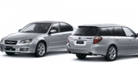 2009 Subaru Liberty & Outback specification upgrade