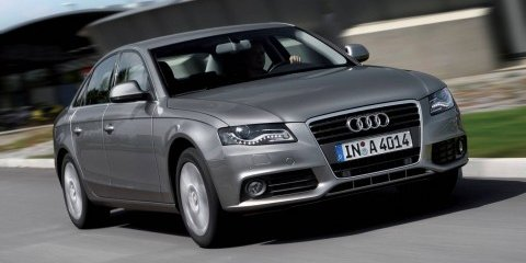 Audi A4 TDI Concept e unveiled in Paris