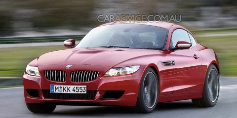 Topless 2009 BMW Z4 spied and rendered