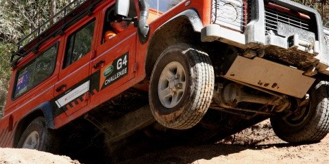 Land Rover G4 Challenge National Selections