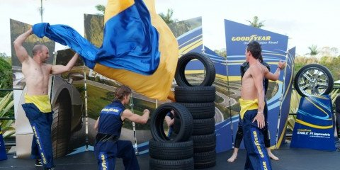 Goodyear Eagle F1 Asymmetric Tyre Launch