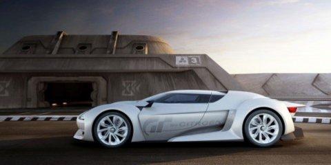 GTbyCITROËN - Citroën's new concept car