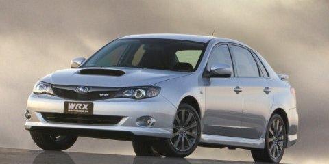 2009 Subaru WRX Sedan & Hatch