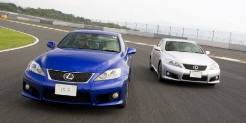 Lexus IS F local pricing announced