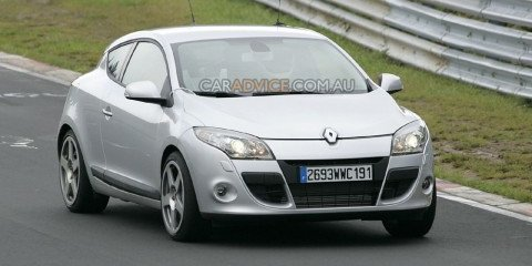Renaultsport Megane Coupé spied at 'Ring