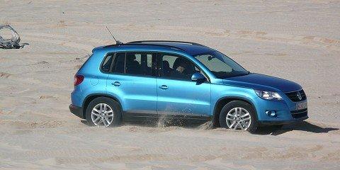 2008 Volkswagen Tiguan TDI offroad review
