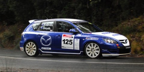 Mazda Showroom win at Tasmanian Tarmac Challenge
