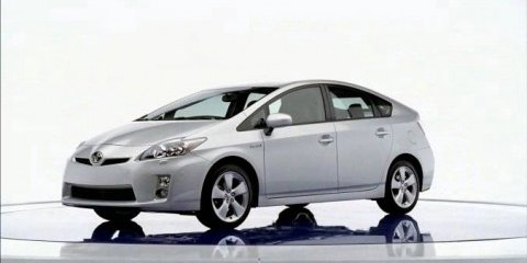 2010 Toyota Prius Hybrid official leaked images
