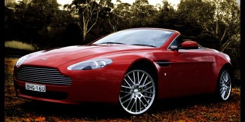 2009 Aston Martin V8 Vantage Roadster Review