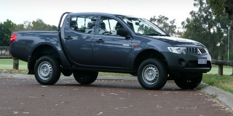 2008 Mitsubishi Triton 4x2 Review