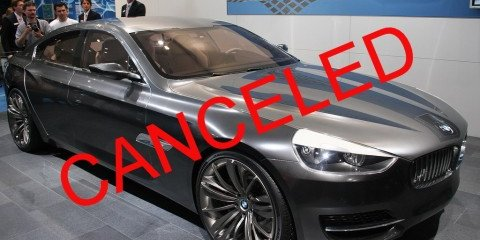 BMW CS Concept Canceled