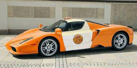 TAXI! Ferrari Enzo cab spotted