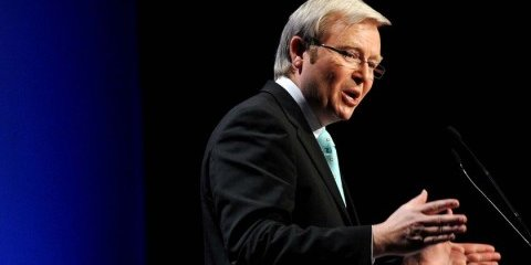 Rudd announces $6bn bailout plan
