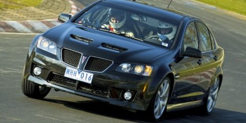 Pontiac G8 GXP laps 'ring in 8:30