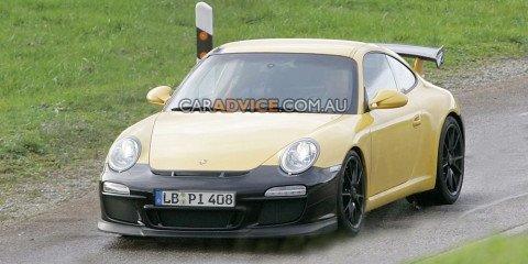 2009 Porsche 911 GT3 RS spied